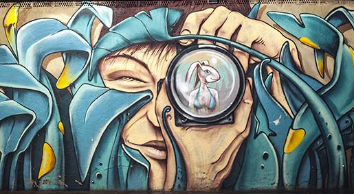 Imanart Barcelona Fotografía decorativa Street art