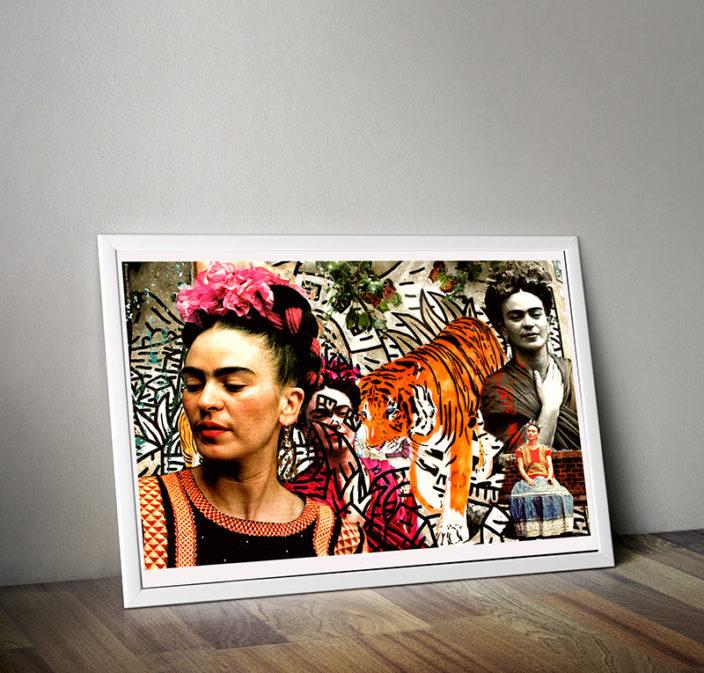 Imanart Barcelona fotografía decorativa Frida Kalho