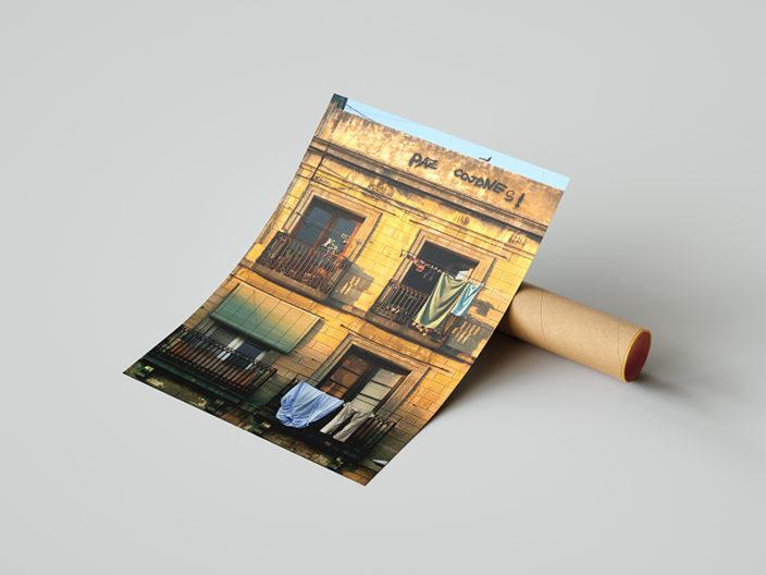 Imanart Barcelona fotografía decorativa poble nou
